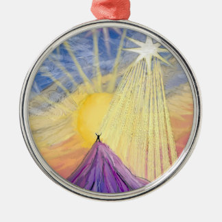 At the Summit Christmas Tree Ornament