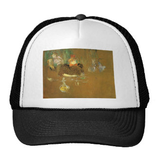 At the table by Toulouse-Lautrec Trucker Hat