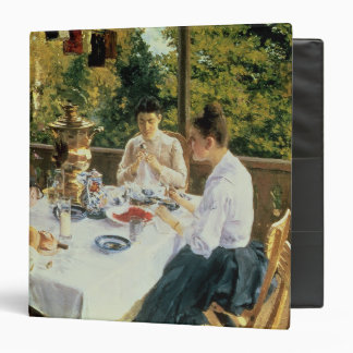 At the Tea-Table, 1888 Binder