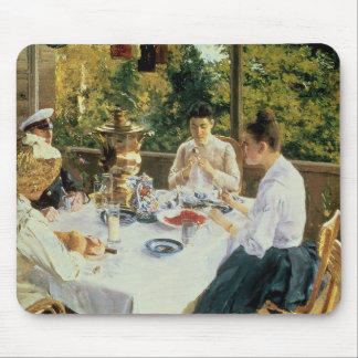 At the Tea-Table, 1888 Mouse Pad