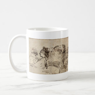 At the Theater by Edouard Manet Coffee Mug