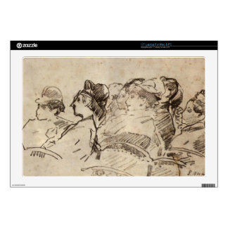 "At the Theater by Edouard Manet Skin For 17"" Laptop"