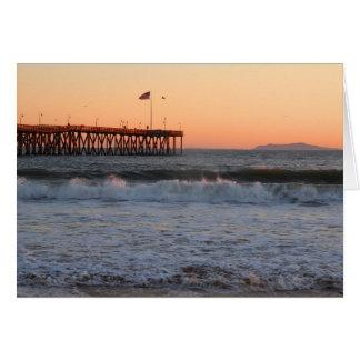 At the Ventura Beach Card