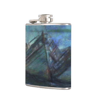 At the Water's Edge Hip Flask