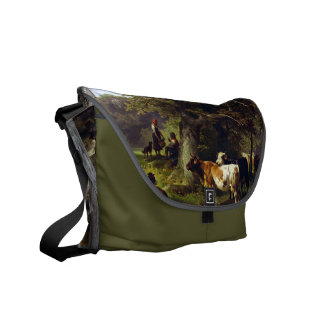 At the Watering Hole Courier Bag