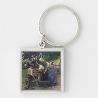 At the Well Keychain