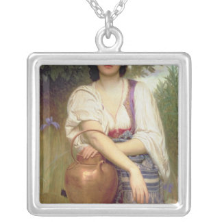 At the Well Silver Plated Necklace
