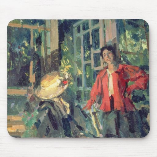 At the Window, 1919 Mousepads