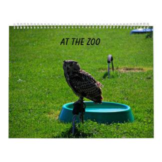 At the zoo calendar