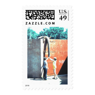 At the Zoo Postage