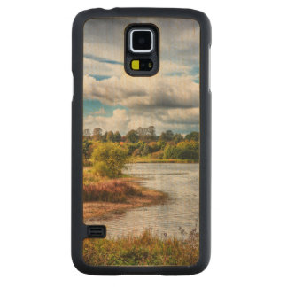 At Waters Edge Carved® Maple Galaxy S5 Case