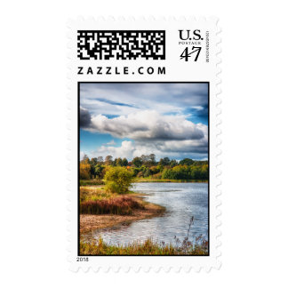At Waters Edge Postage Stamp