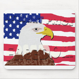 At What Price Freedom Mousepad