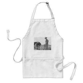 At Work in the Cotton Adult Apron