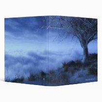 cliff, clouds, winter, tree, world's, edge, digital, blasphemy, desktop wallpaper, Fichário com design gráfico personalizado