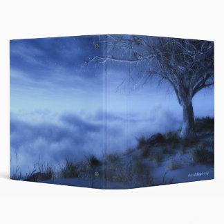 At World's Edge (Winter) Avery Binder