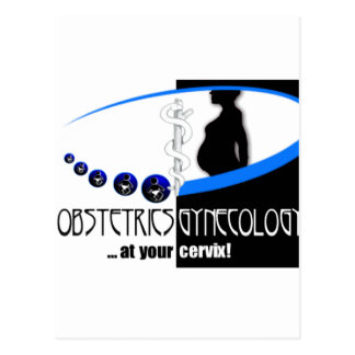 AT YOUR CERVIX - OB / GYN (GYNECOLOGIST HUMOR) POSTCARD
