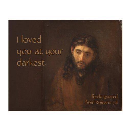 At your darkest CC0522 Rembrandt Jesus