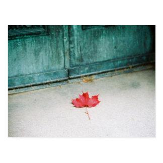 At your doorstep postcard