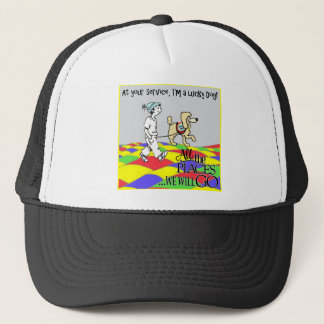 At your Service C&B copy Trucker Hat