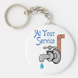 AT YOUR SERVICE KEY CHAIN