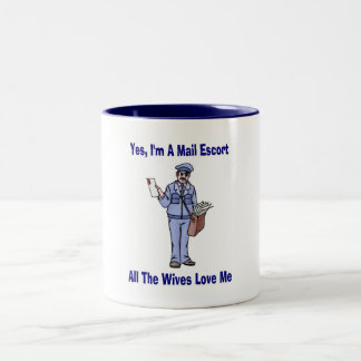 At Your Wife's Service Two-Tone Coffee Mug