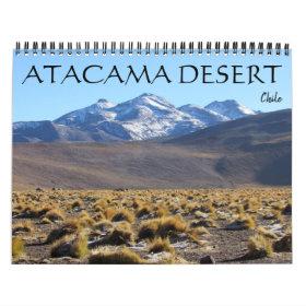 atacama desert 2021 calendar
