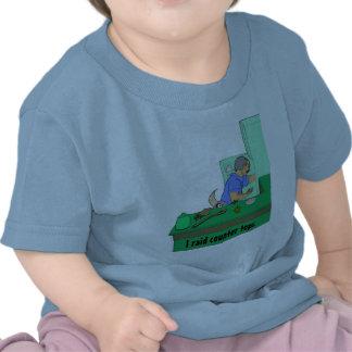 Ataco las encimeras camisetas