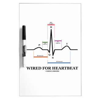Atado con alambre para el latido del corazón elec pizarras blancas de calidad