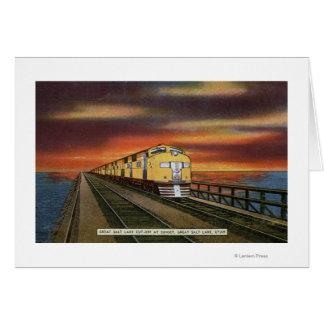 Atajo del ferrocarril de Great Salt Lake Tarjeta De Felicitación