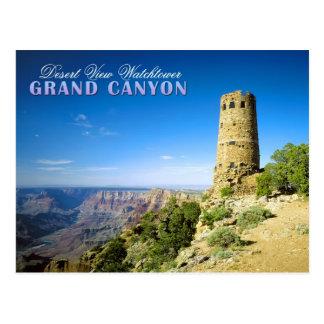 Atalaya de la opinión del desierto, Gran Cañón, AZ Postal