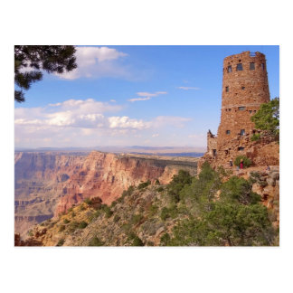Atalaya de la opinión del desierto tarjetas postales