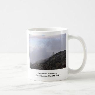 Atalaya de la opinión del desierto tazas de café