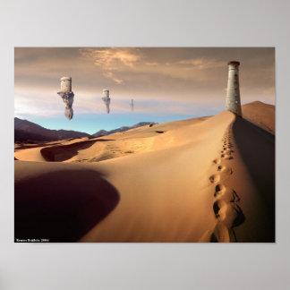 Atalaya del desierto póster