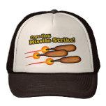 Ataque con misiles del perro de maíz gorro