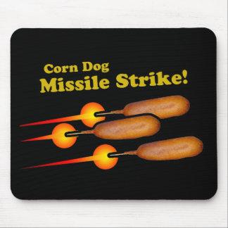 Ataque con misiles del perro de maíz tapete de ratón