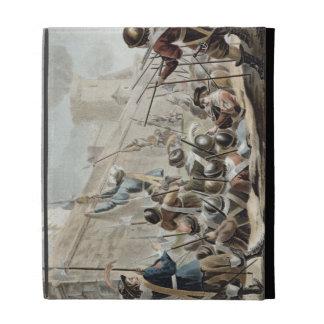 Ataque contra el Boulogne-sur-Mer, grabado por Jea