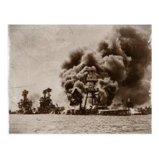 Ataque contra Pearl Harbor Postales