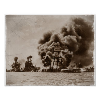 Ataque contra Pearl Harbor Póster