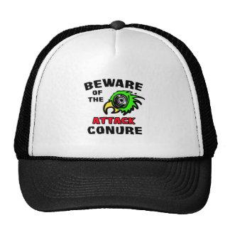 Ataque Conure Gorros Bordados