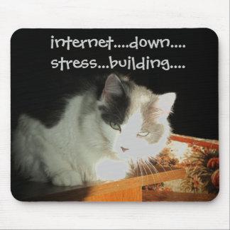 Ataque de ansiedad de separación del Internet Tapetes De Raton