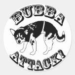 ¡Ataque de Bubba! Pegatina