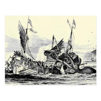 ¡Ataque de Kraken! Postal