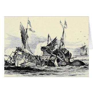 ¡Ataque de Kraken! Tarjeta
