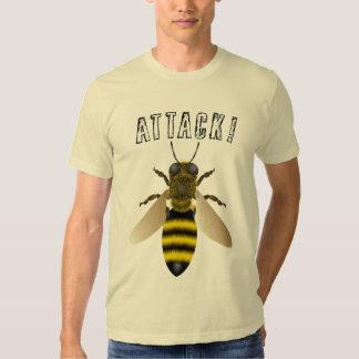 Ataque de la abeja playeras