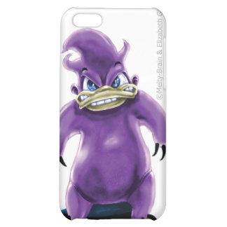 Ataque de la caja púrpura del iPhone 4 de Platypus