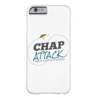 Ataque de la grieta con el señuelo de la pesca - funda de iPhone 6 barely there