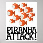 ¡ataque de la piraña! impresiones