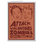 Ataque de la tarjeta del personalizable de los zom