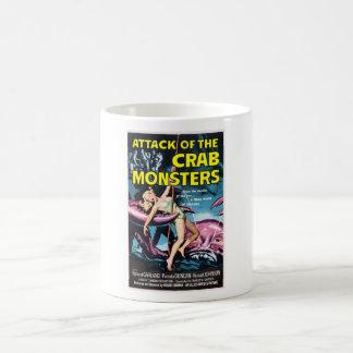 Ataque de la taza de los monstruos del cangrejo